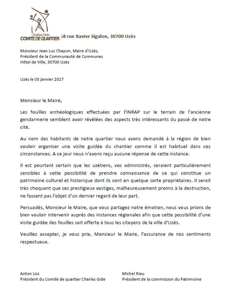 lettre-au-maire-duzes